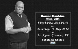 Romeo Hawkins Funeral Service